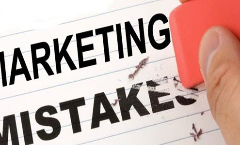 marketing mistakes